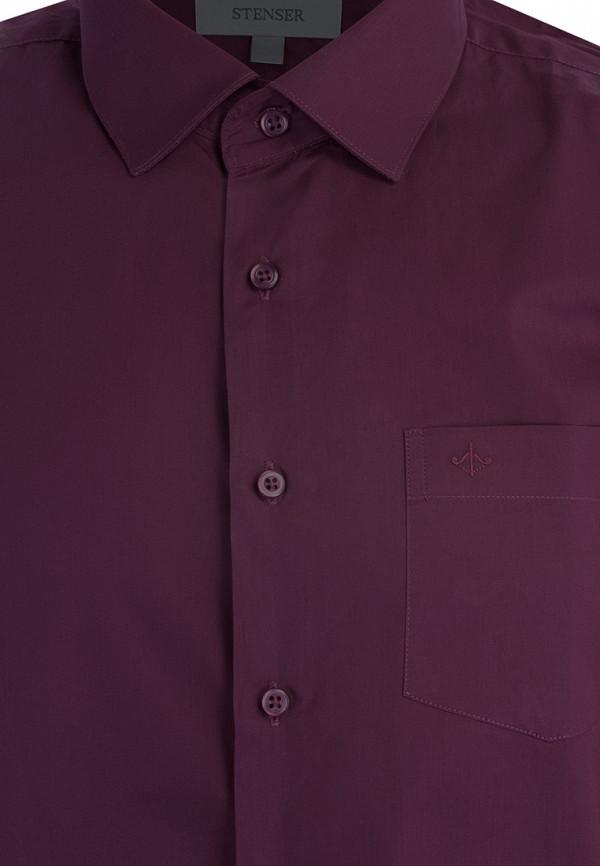 Рубашка для мальчика Stenser цвет бордовый  Фото 3