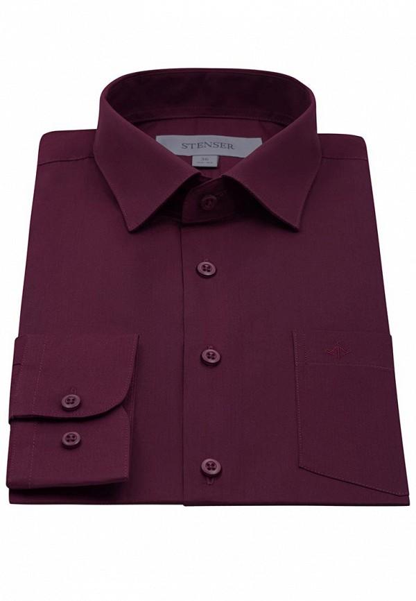Рубашка для мальчика Stenser цвет бордовый  Фото 5