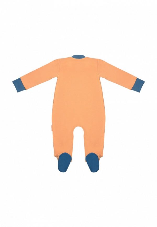 Детский комбинезон бельевой Kogankids цвет оранжевый  Фото 2
