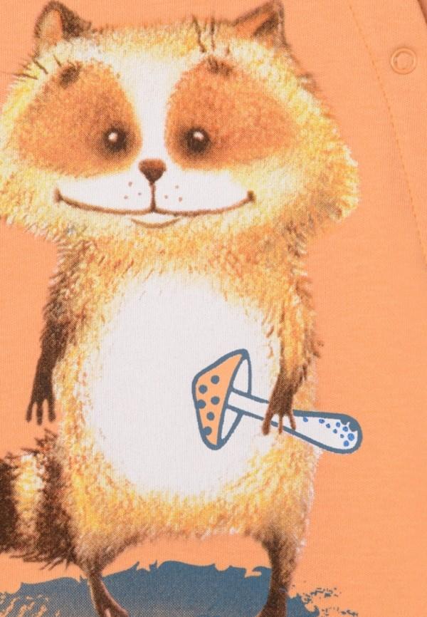Детский комбинезон бельевой Kogankids цвет оранжевый  Фото 3