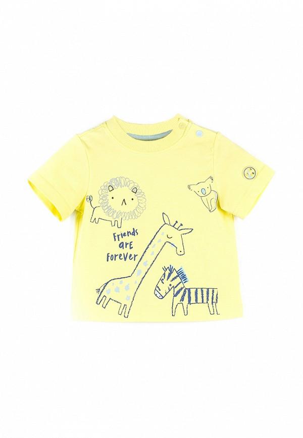 Футболка для мальчика Coccodrillo цвет желтый
