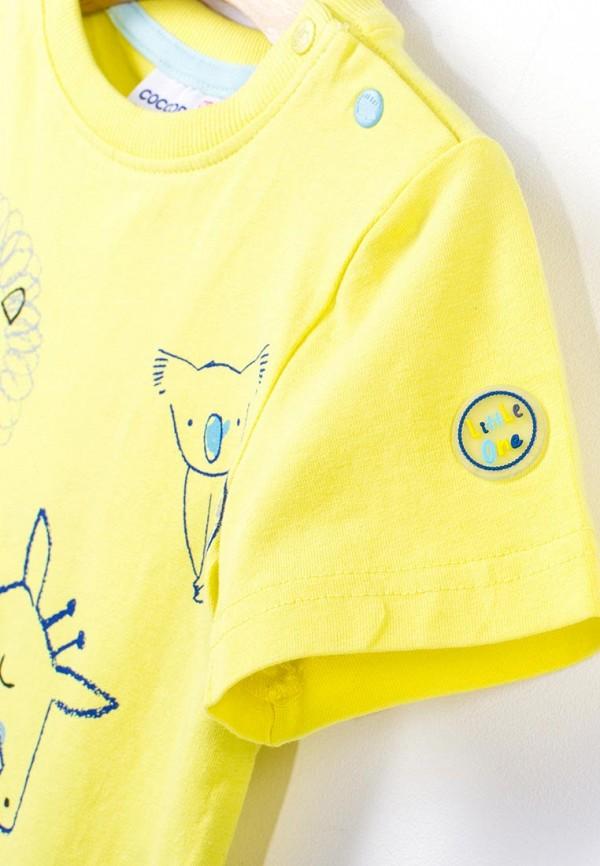 Футболка для мальчика Coccodrillo цвет желтый  Фото 3