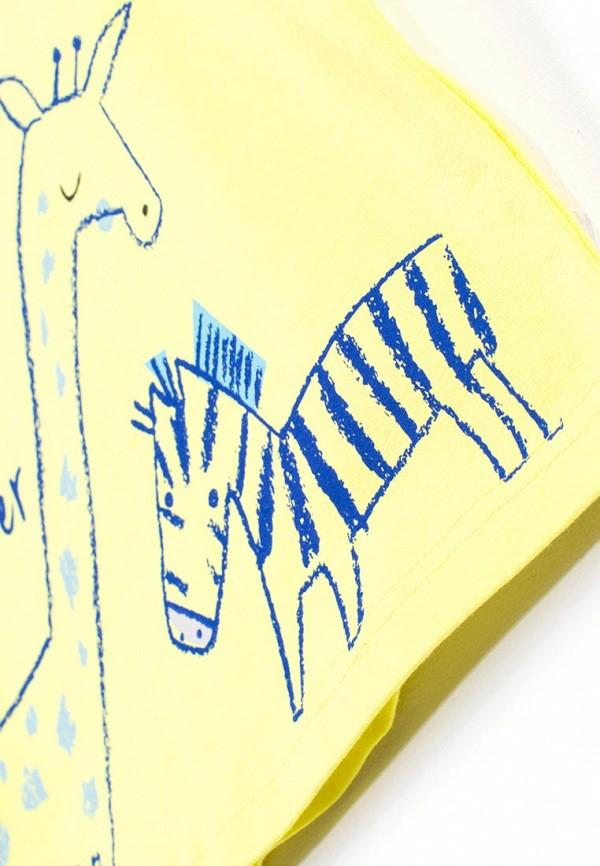 Футболка для мальчика Coccodrillo цвет желтый  Фото 5