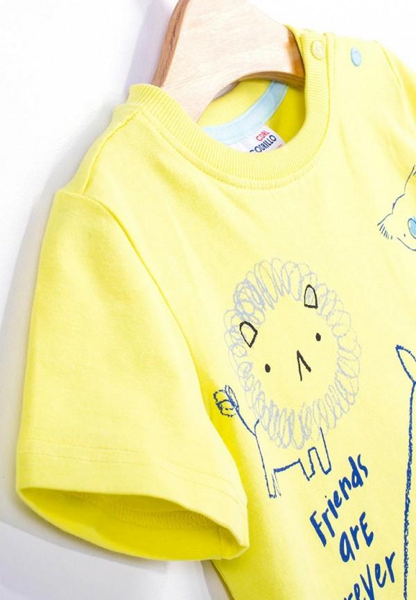 Футболка для мальчика Coccodrillo цвет желтый  Фото 6