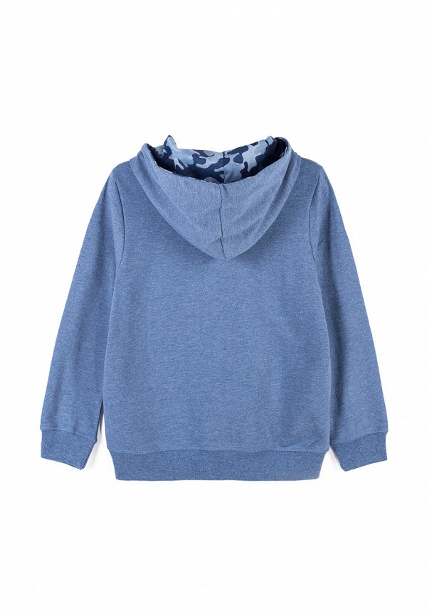 Толстовка для мальчика Coccodrillo цвет синий  Фото 2