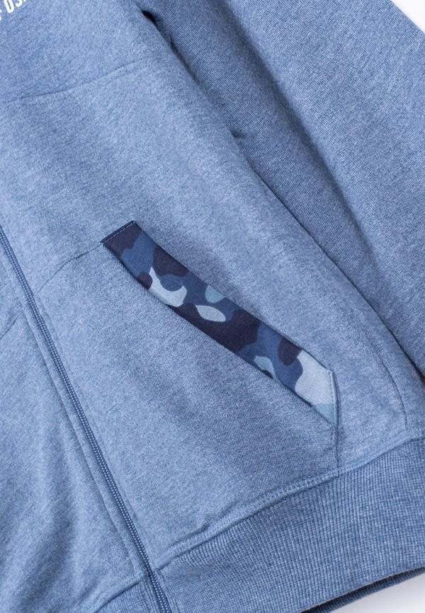 Толстовка для мальчика Coccodrillo цвет синий  Фото 4