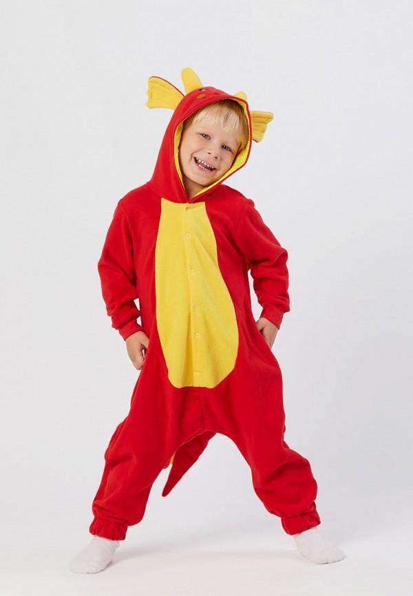 Детский комбинезон домашний HandyWear ДК1030-красный-32 Фото 2