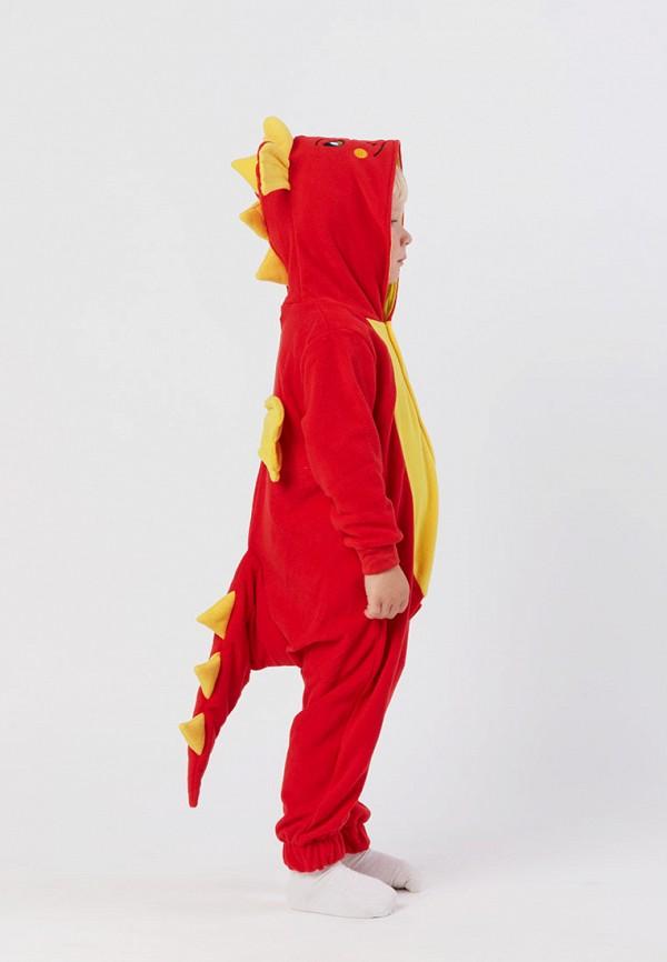 Детский комбинезон домашний HandyWear ДК1030-красный-32 Фото 3