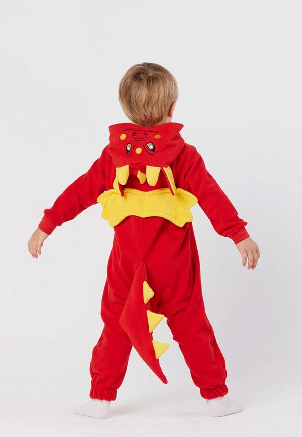 Детский комбинезон домашний HandyWear ДК1030-красный-32 Фото 4