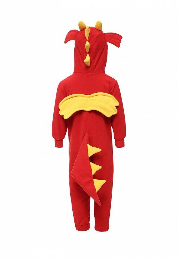 Детский комбинезон домашний HandyWear ДК1030-красный-32 Фото 5