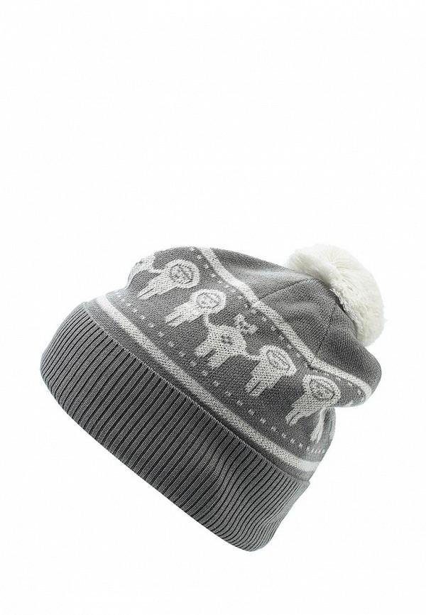 Шапка детская Merri Merini цвет серый
