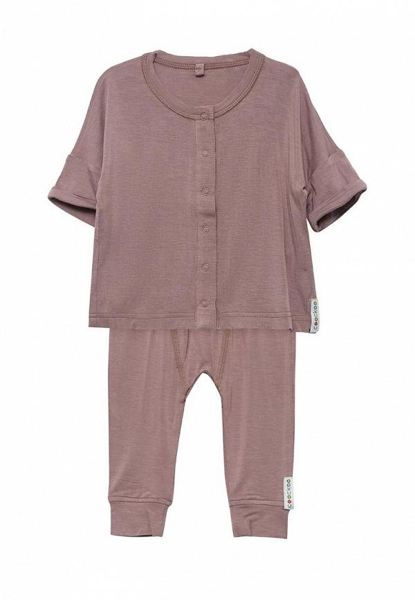 Пижама для девочки COOCKOO цвет розовый