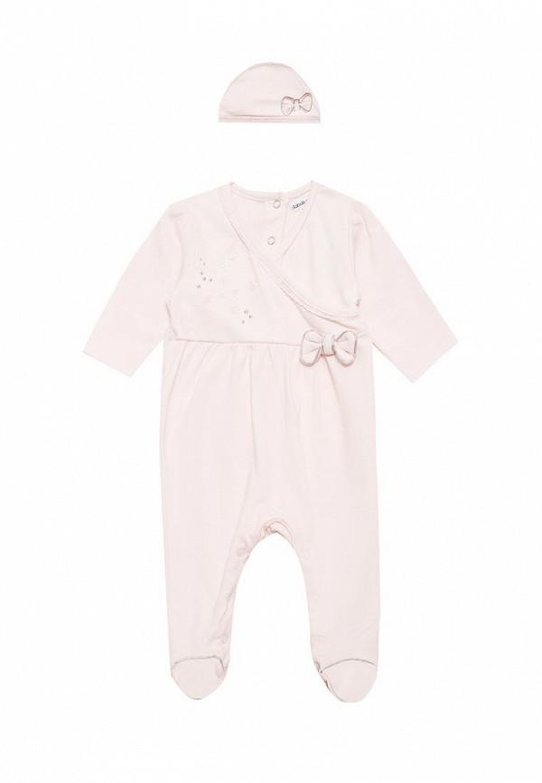 Комплект для девочки Babaluno цвет розовый