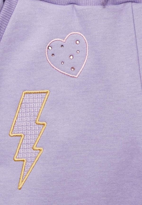 Брюки спортивные для девочки Fleur de Vie цвет фиолетовый  Фото 3