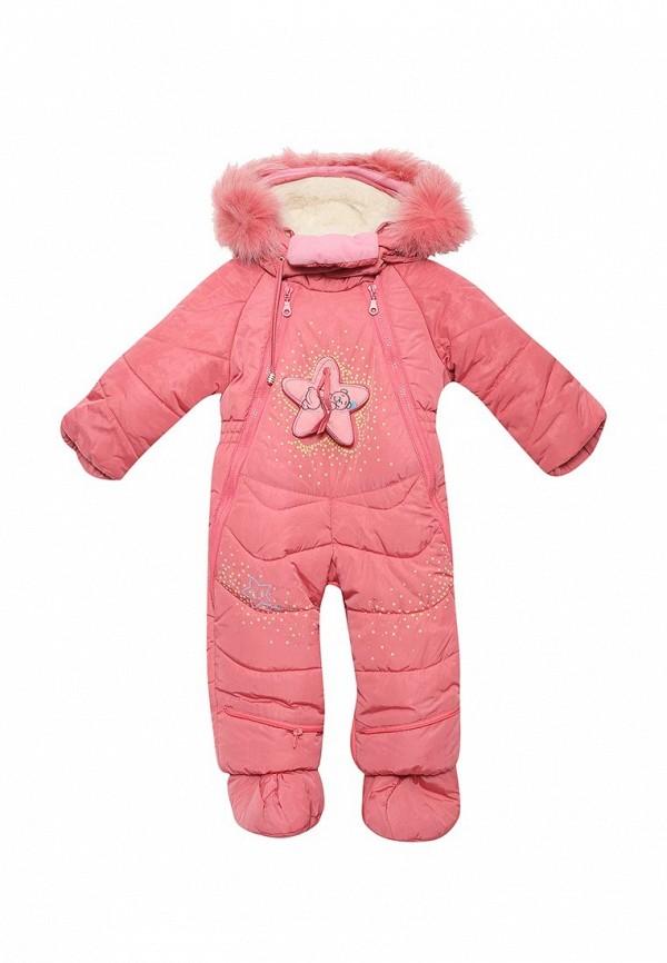 Детский комбинезон утепленный Ovas цвет розовый