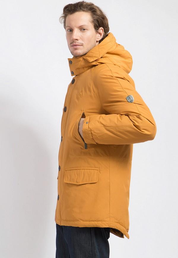 Пуховик Finn Flare цвет оранжевый  Фото 4