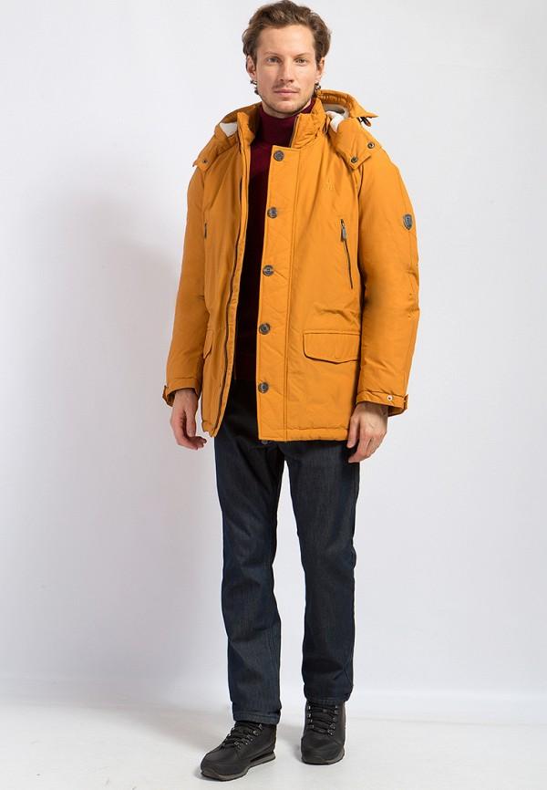 Пуховик Finn Flare цвет оранжевый  Фото 2