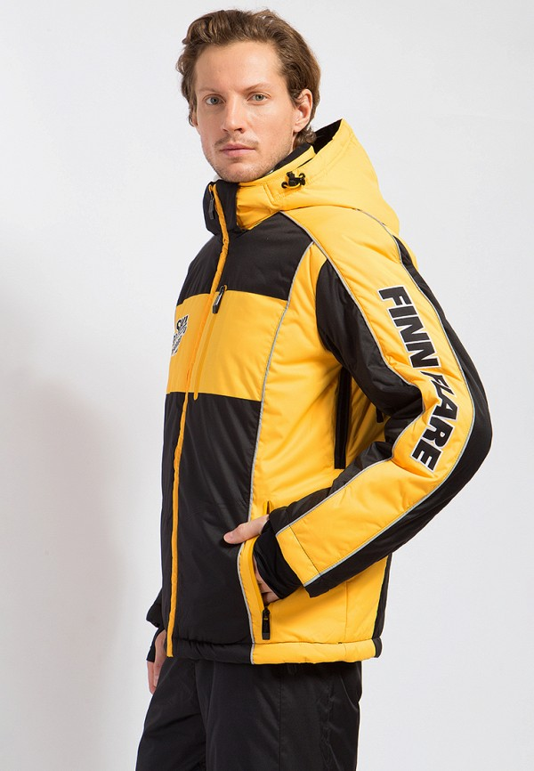 Куртка утепленная Finn Flare цвет черный  Фото 5
