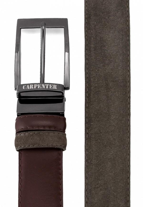 Ремень Carpenter цвет коричневый  Фото 2