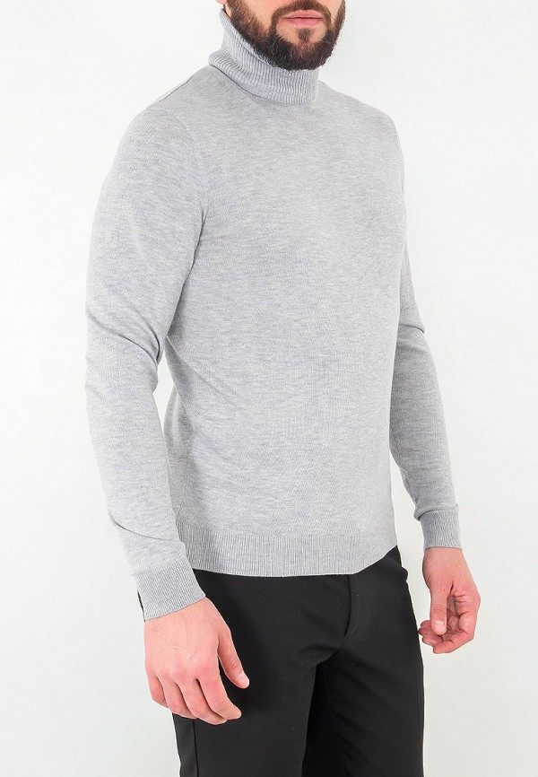 Водолазка Greg цвет серый