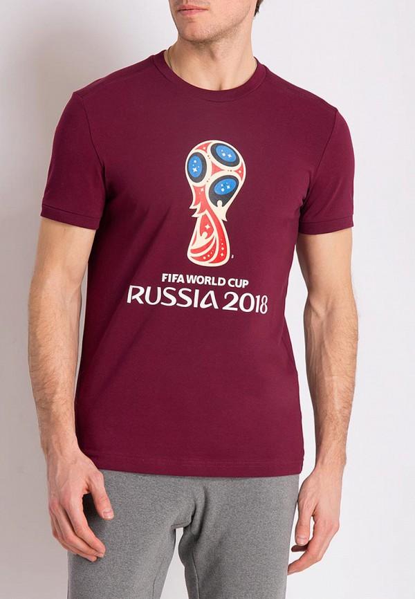 Футболка 2018 FIFA World Cup Russia™ цвет бордовый