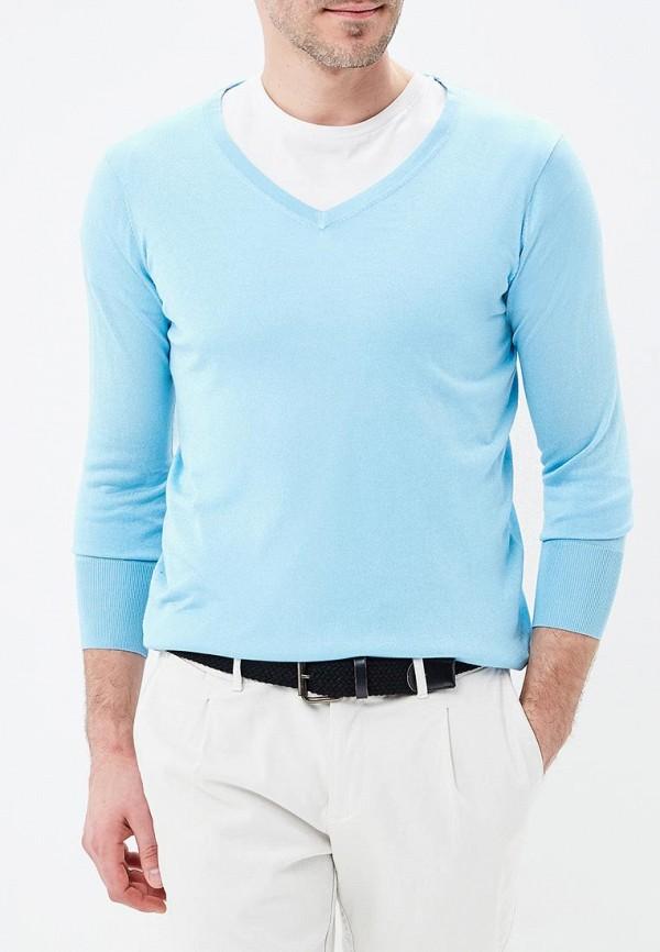 Пуловер Riggi цвет голубой