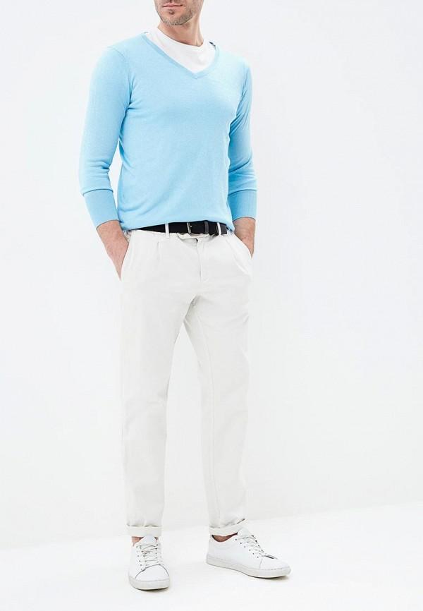 Пуловер Riggi цвет голубой  Фото 2