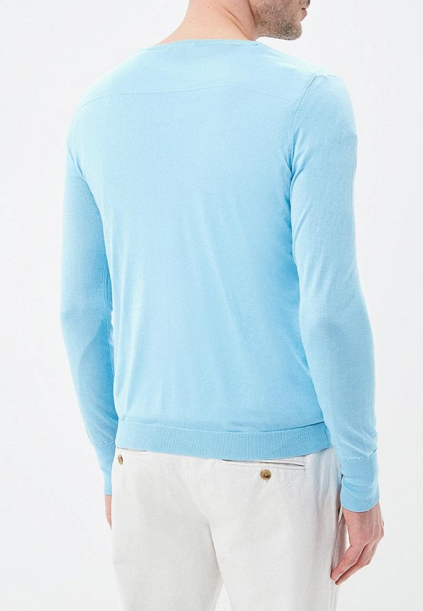 Пуловер Riggi цвет голубой  Фото 3