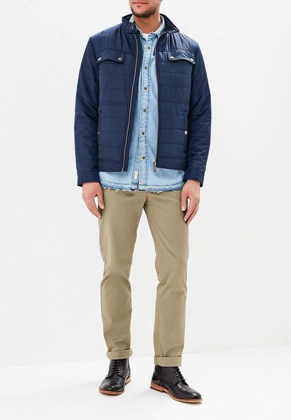 Куртка утепленная Jorg Weber цвет синий  Фото 2