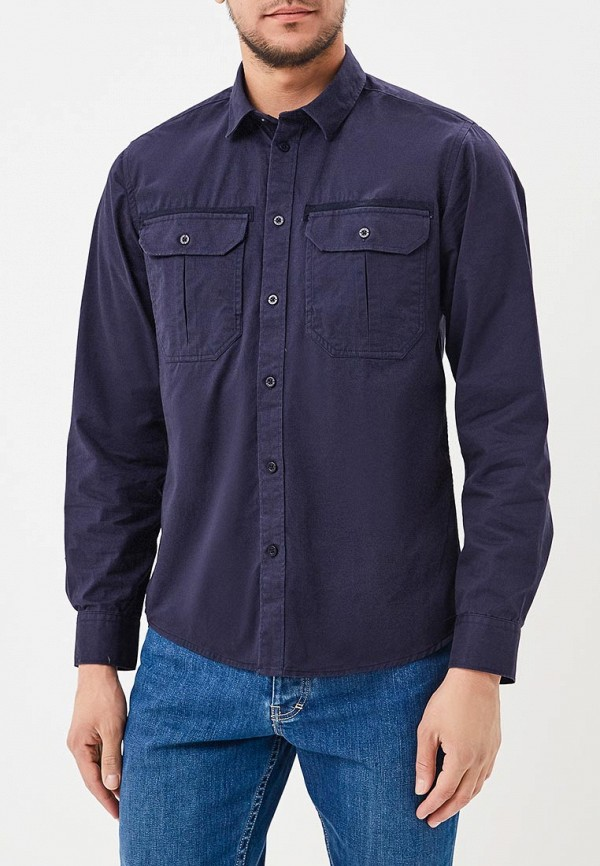 Рубашка Top Secret цвет синий
