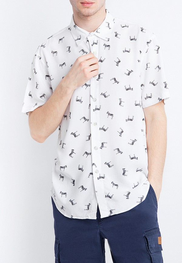 Рубашка Finn Flare цвет белый