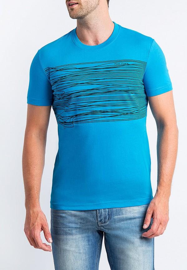 Футболка Finn Flare цвет голубой