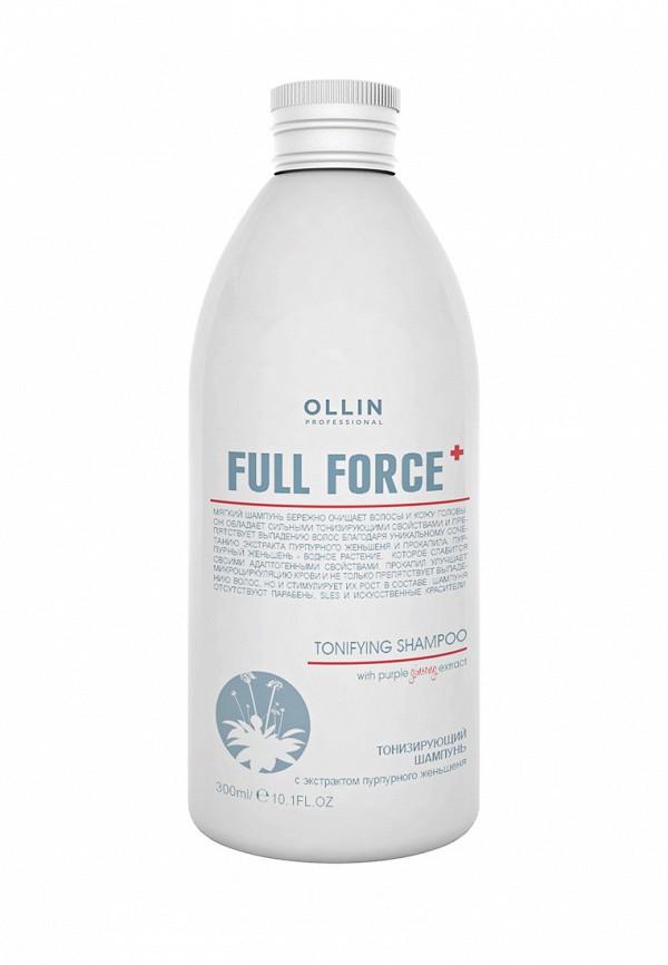 Тонизирующий шампунь Ollin Full Force Hair Growth Tonic Shampoo 300 мл
