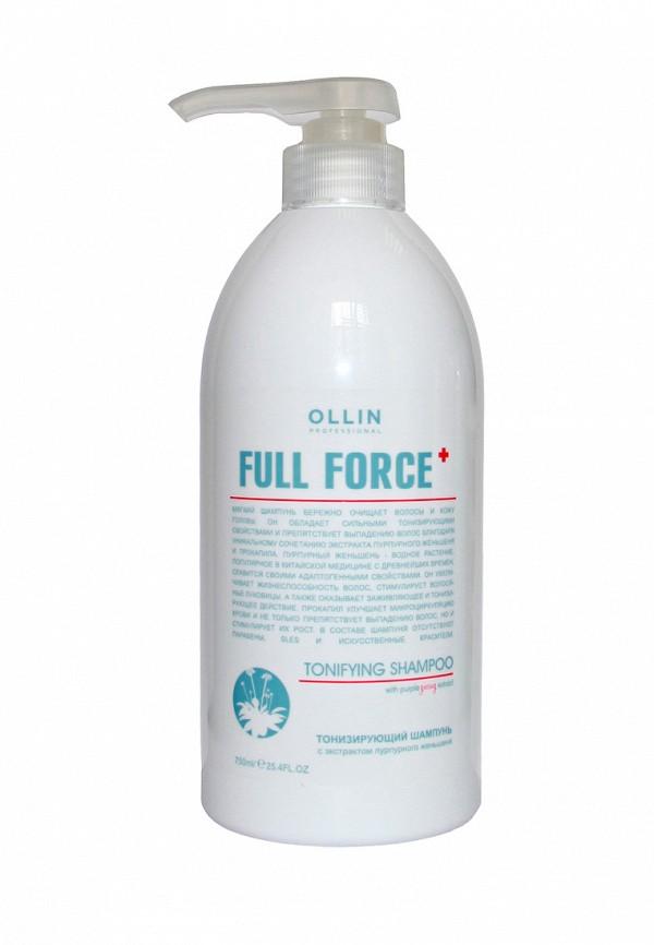 Тонизирующий шампунь Ollin Full Force Hair Growth Tonic Shampoo 750 мл