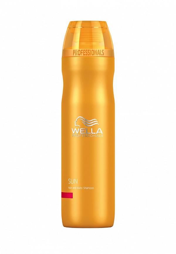 Шампунь для волос и тела Wella Sun - Для защиты волос на солнце 250 мл