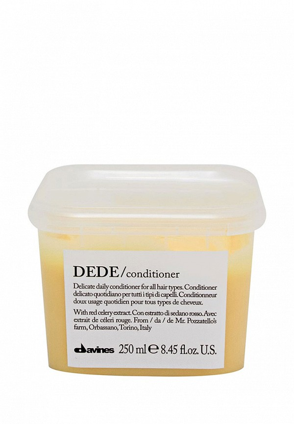 Кондиционер деликатный Davines Essential Haircare NEW - Обновленная линия для ежедневного ухода за волосами 250 мл
