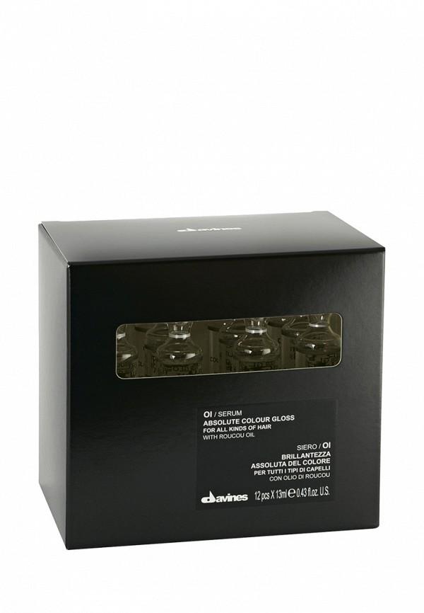 Сыворотка для блеска окрашенных волос Davines Ol Essential Haircare - Для придания волосам абсолютной гладкости 156 мл
