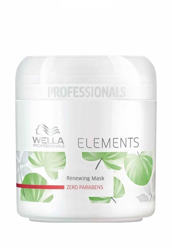Обновляющая маска Wella Elements - Натуральная линия для ухода за волосами 150 мл