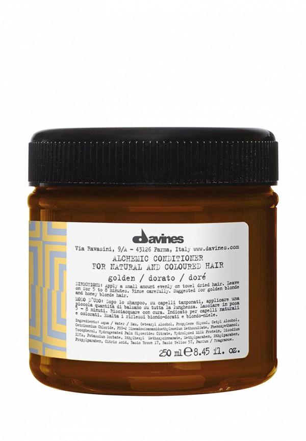 Кондиционер Алхимик золотой для светлых волос 250 мл Davines Alchemic - Усиление и поддержание цвета