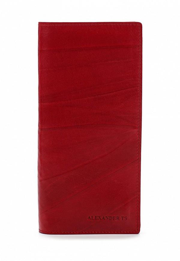 Портмоне Alexander Tsiselsky цвет красный