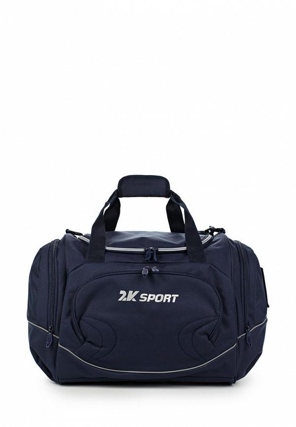 Сумка спортивная 2К цвет синий
