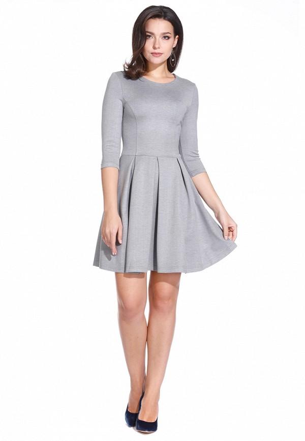 Платье в складку до колен фото