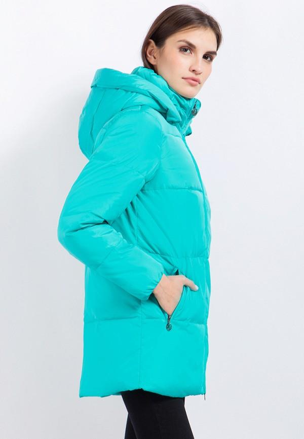 Куртка утепленная Finn Flare цвет бирюзовый  Фото 4