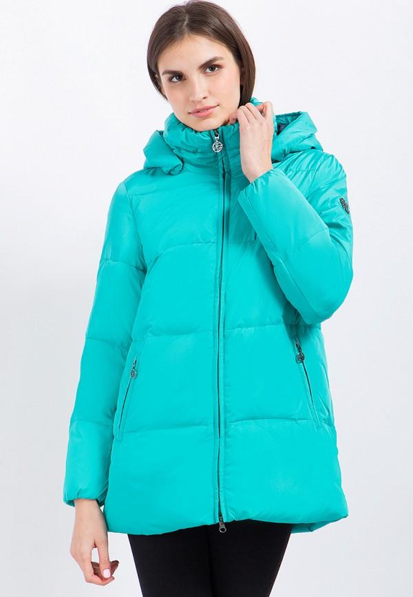 Куртка утепленная Finn Flare цвет бирюзовый