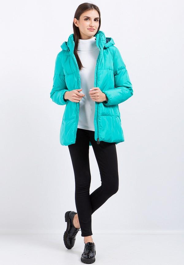 Куртка утепленная Finn Flare цвет бирюзовый  Фото 2