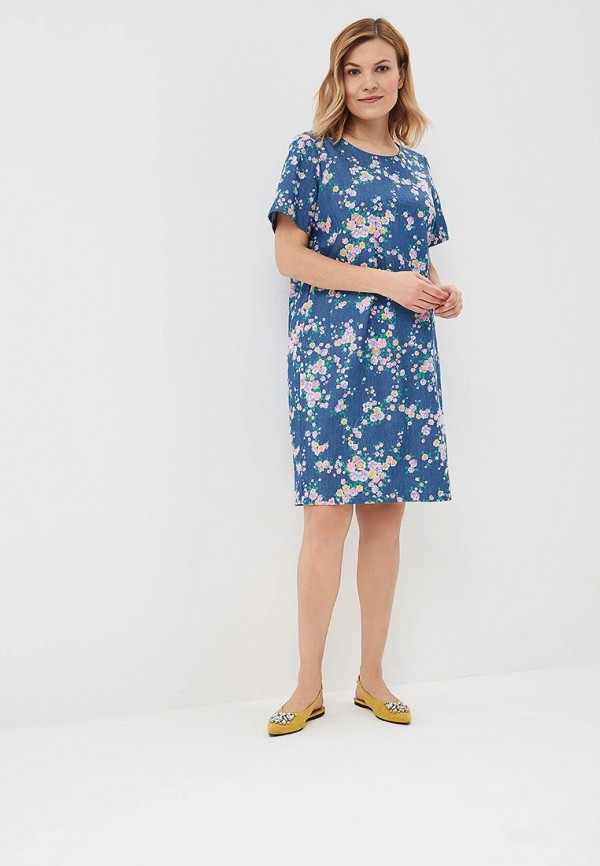 Платье Olsi цвет синий  Фото 2