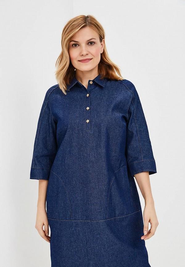 Платье джинсовое Olsi цвет синий