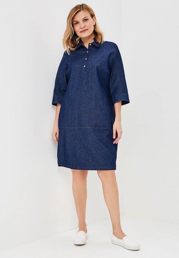 Платье джинсовое Olsi цвет синий  Фото 2