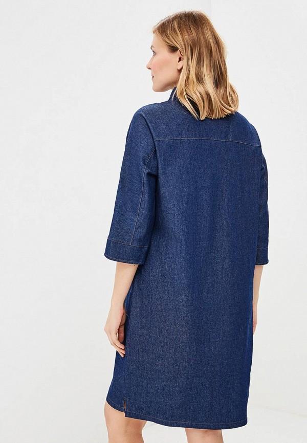 Платье джинсовое Olsi цвет синий  Фото 3
