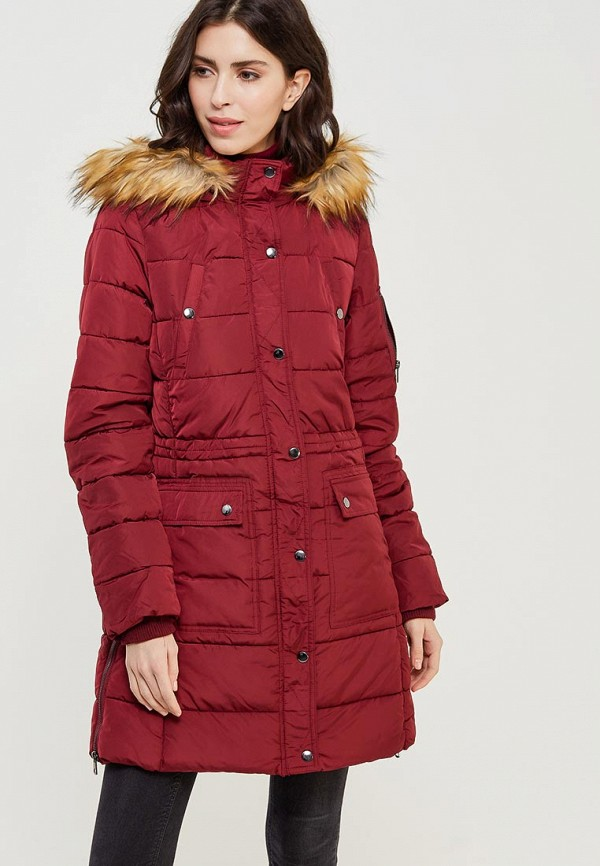 Куртка утепленная LC Waikiki цвет бордовый